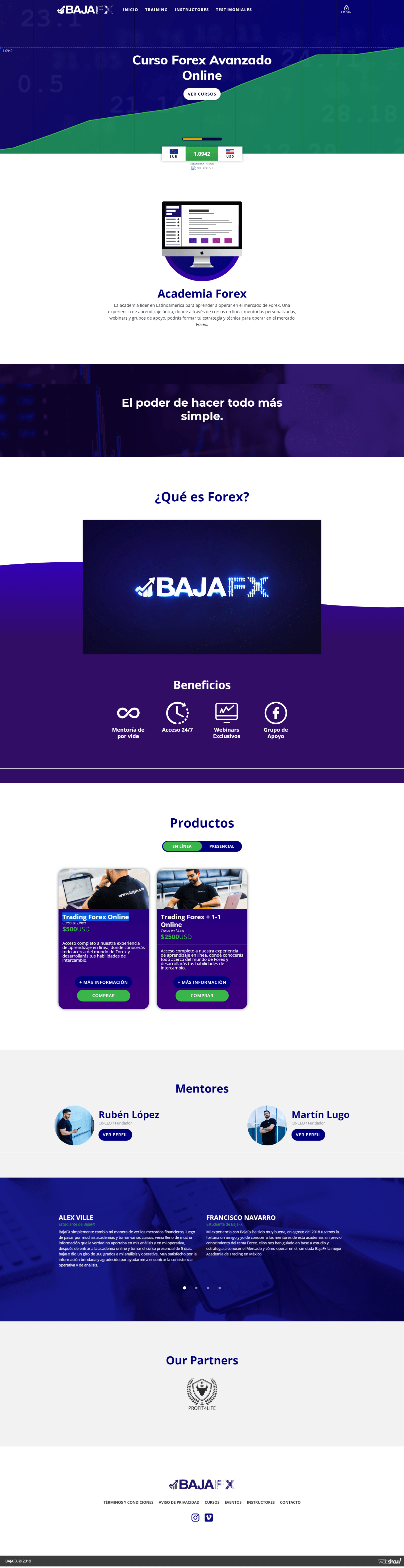 BajaFx Trading Forex Online