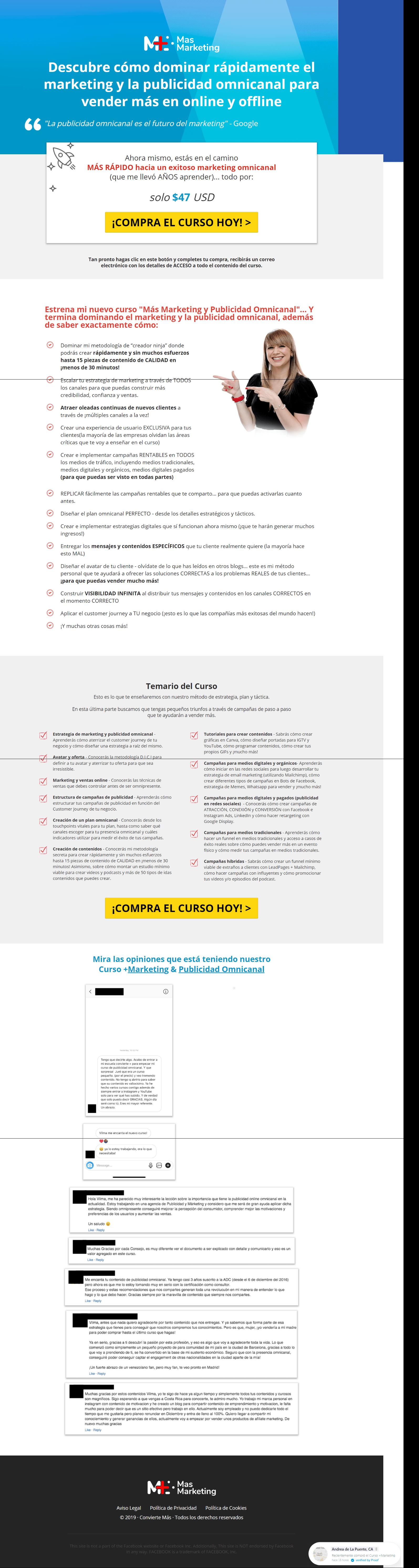 Marketing Publicidad Omnicanal curso